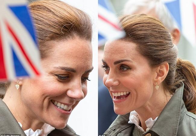Những khoảnh khắc kém sang, lộ nhan sắc thật không hề hoàn mỹ của Công nương Kate trong sự kiện mới nhất khiến người hâm mộ vỡ mộng-5