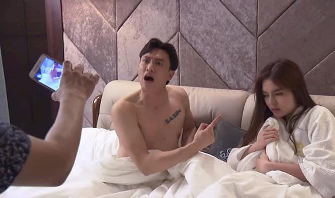 Hot girl ở khách sạn cùng nam diễn viên có nhà 35 tỷ hé lộ cảnh nóng gây nghẽn sóng VTV-2