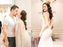 Chồng Tây khen Phương Mai sexy khi thử váy cưới