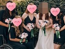 Gặp phù dâu xấu tính chỉ lo nhìn chú rể, cô dâu cao tay làm việc này và được cư dân mạng ủng hộ nhiệt tình