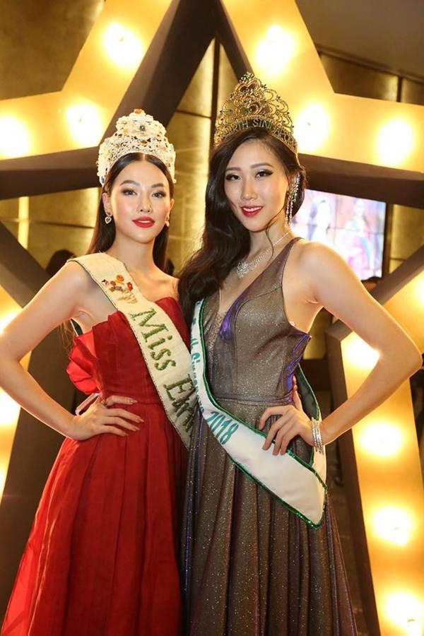 Hoa hậu Phương Khánh nóng bỏng với sắc đỏ dự chung kết Miss Earth Singapore 2019-3
