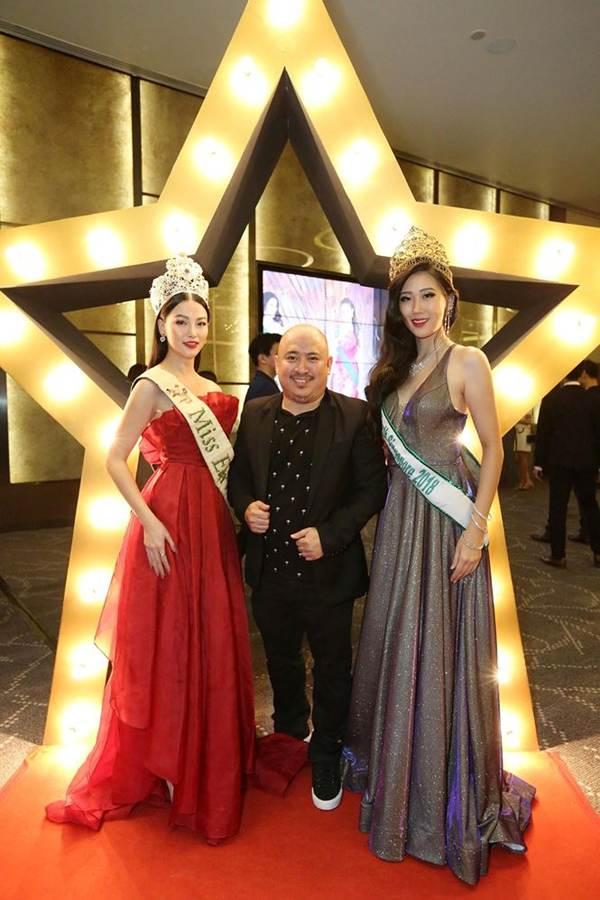 Hoa hậu Phương Khánh nóng bỏng với sắc đỏ dự chung kết Miss Earth Singapore 2019-4