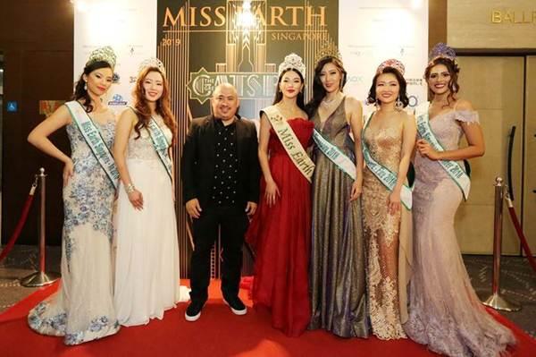 Hoa hậu Phương Khánh nóng bỏng với sắc đỏ dự chung kết Miss Earth Singapore 2019-7