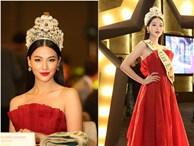 Hoa hậu Phương Khánh nóng bỏng với sắc đỏ dự chung kết Miss Earth Singapore 2019