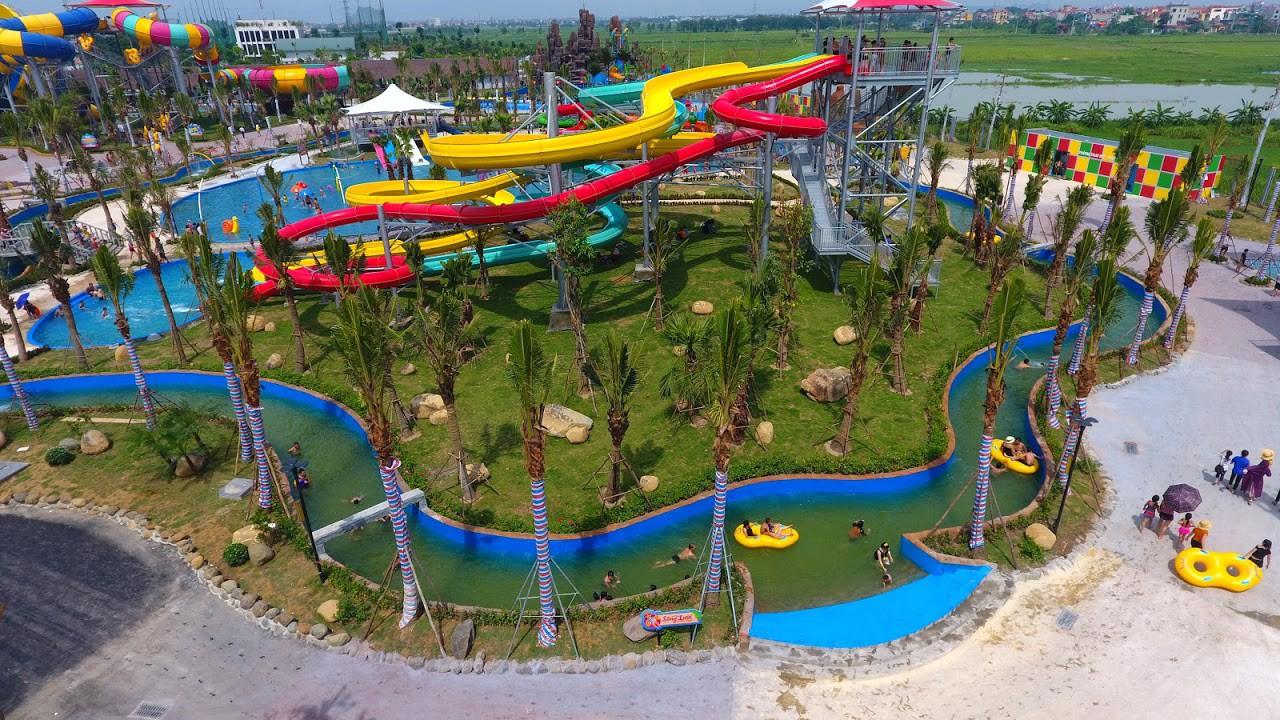 Cận cảnh bên trong công viên nước Thanh Hà sau sự cố bé trai 4 tuổi đuối nước tử vong-1