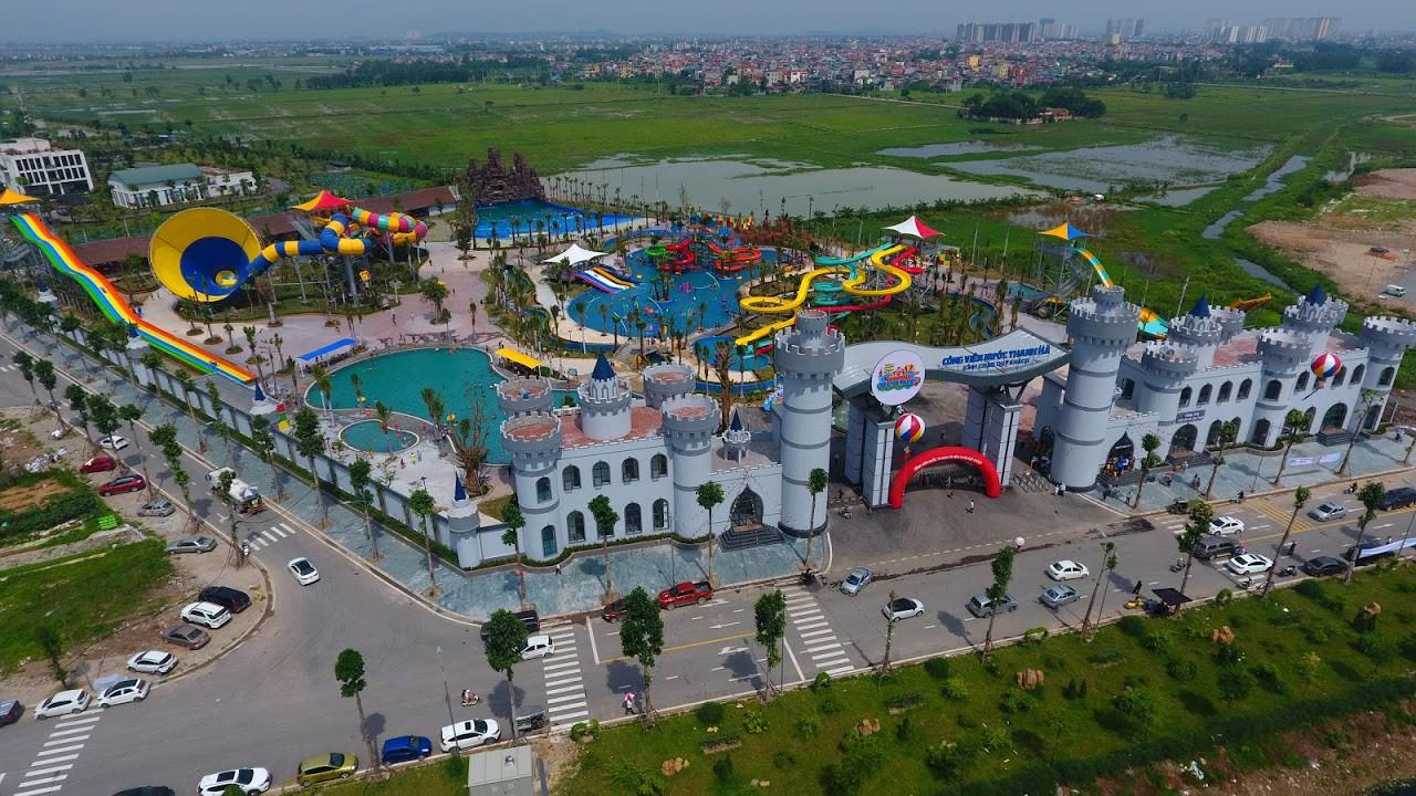Cận cảnh bên trong công viên nước Thanh Hà sau sự cố bé trai 4 tuổi đuối nước tử vong-4