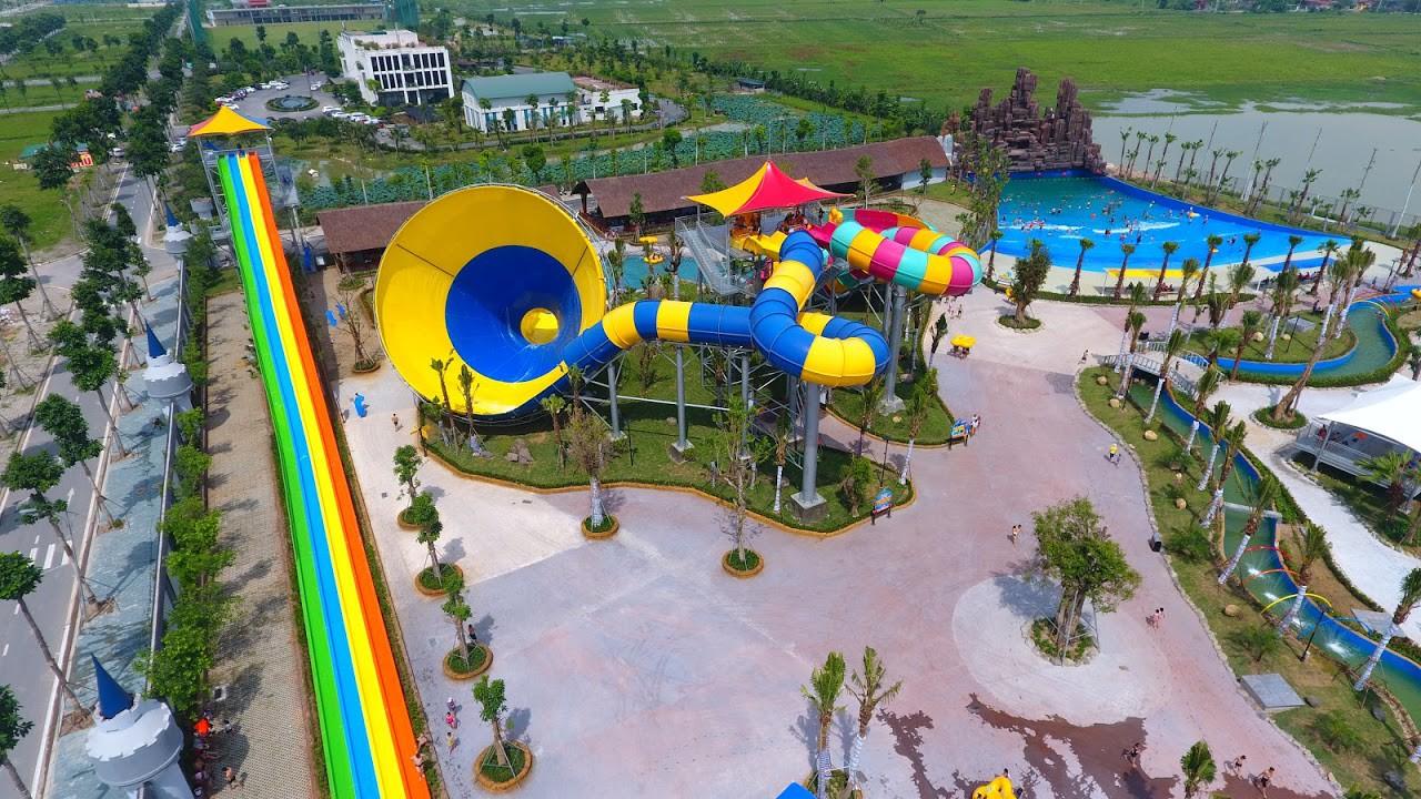 Cận cảnh bên trong công viên nước Thanh Hà sau sự cố bé trai 4 tuổi đuối nước tử vong-5