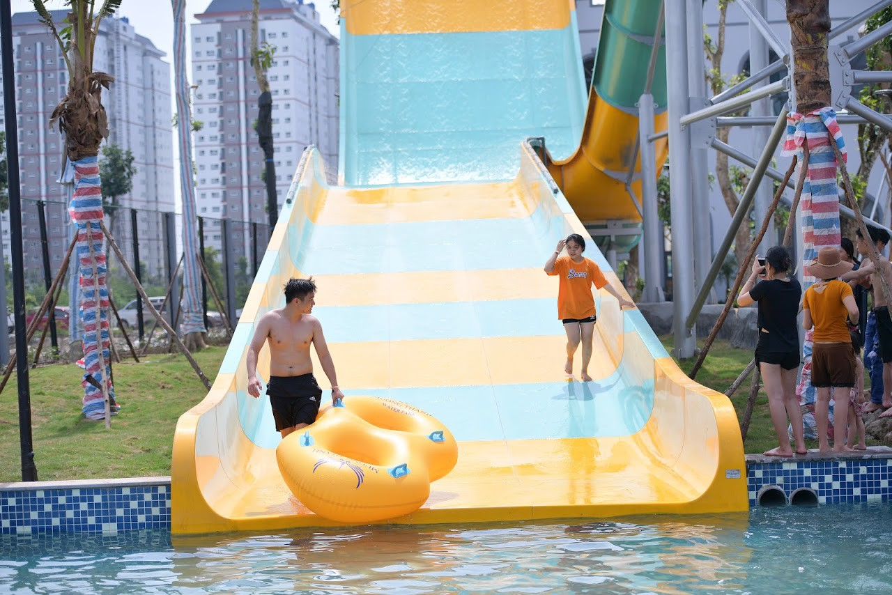 Cận cảnh bên trong công viên nước Thanh Hà sau sự cố bé trai 4 tuổi đuối nước tử vong-11
