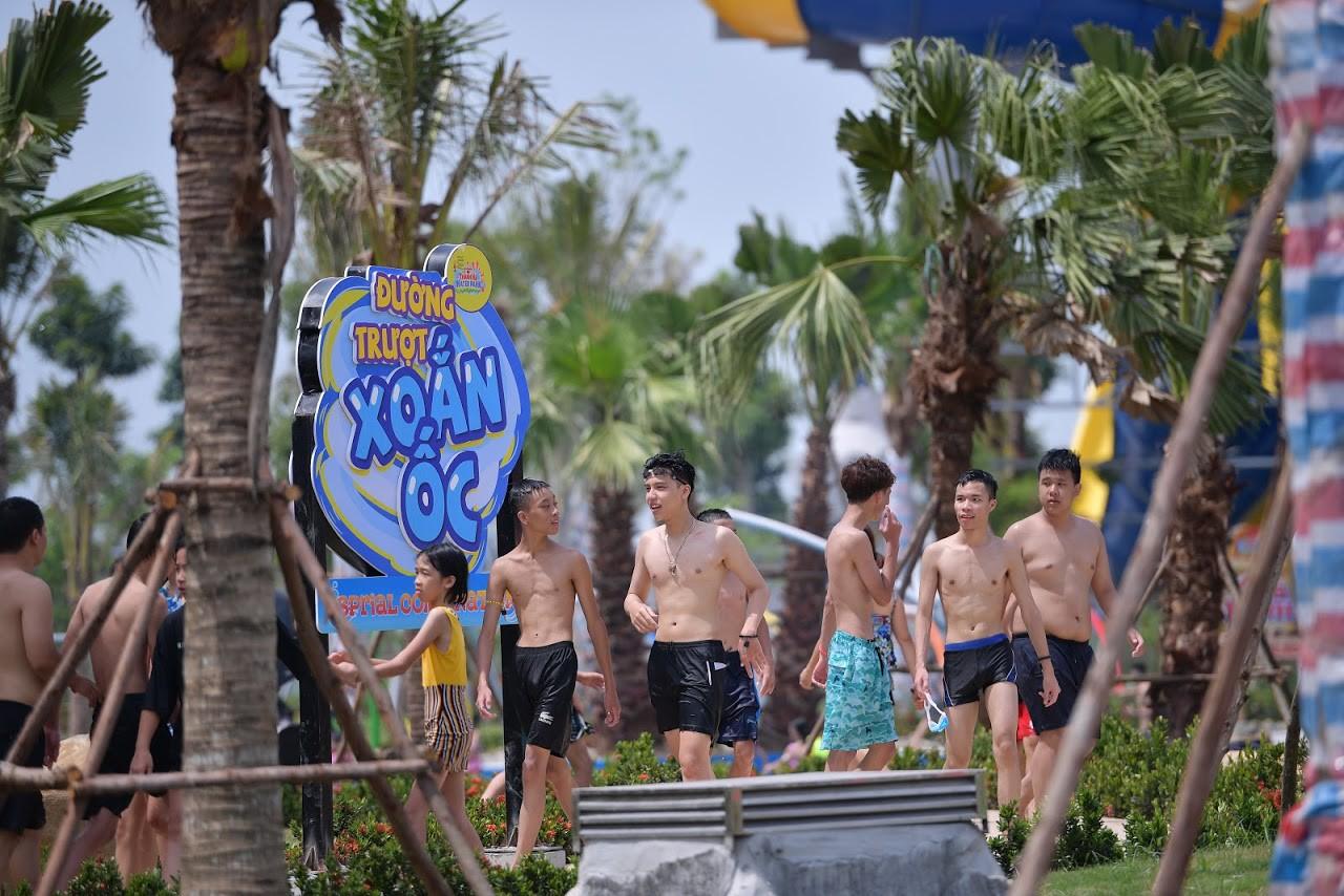 Cận cảnh bên trong công viên nước Thanh Hà sau sự cố bé trai 4 tuổi đuối nước tử vong-13