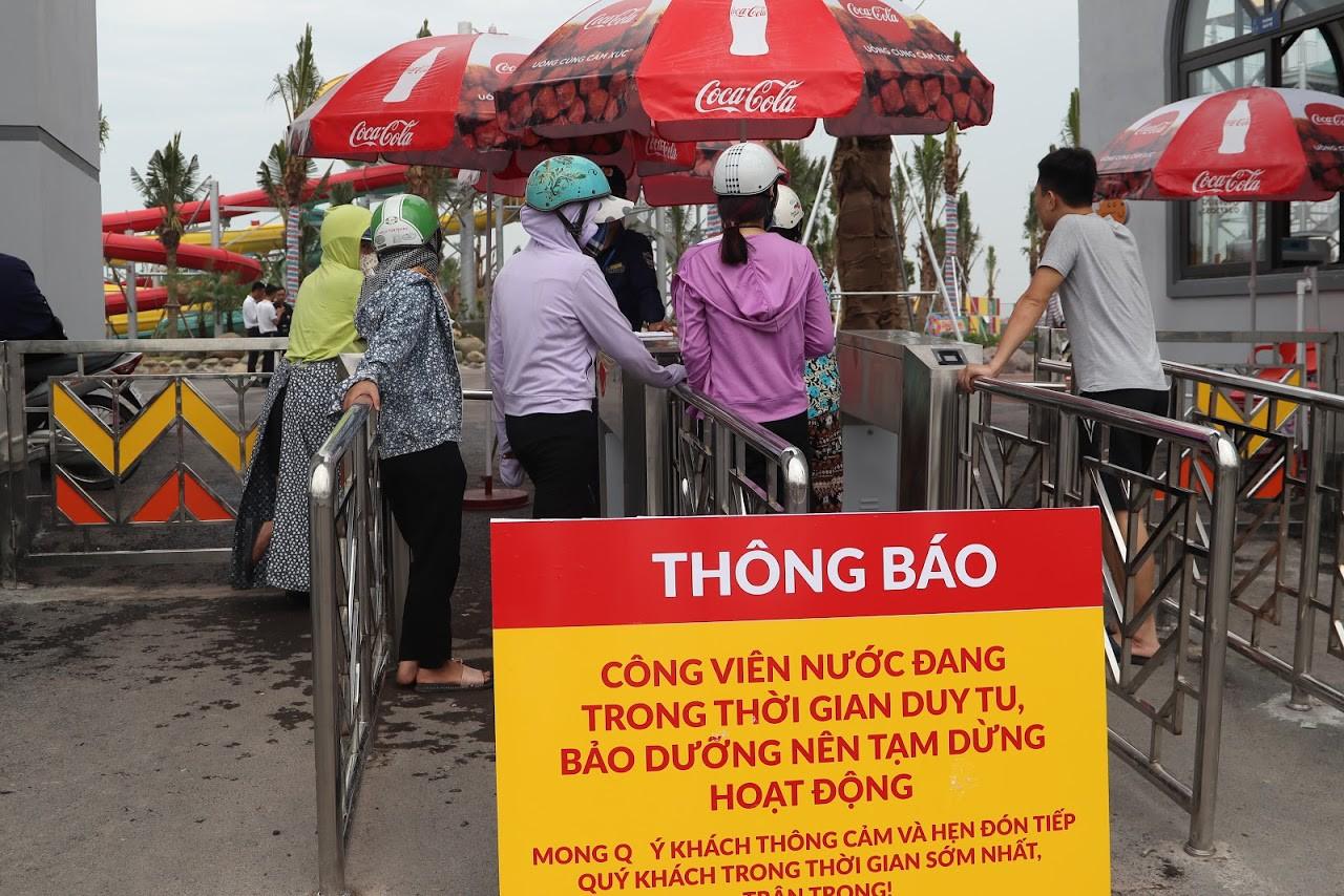 Cận cảnh bên trong công viên nước Thanh Hà sau sự cố bé trai 4 tuổi đuối nước tử vong-16