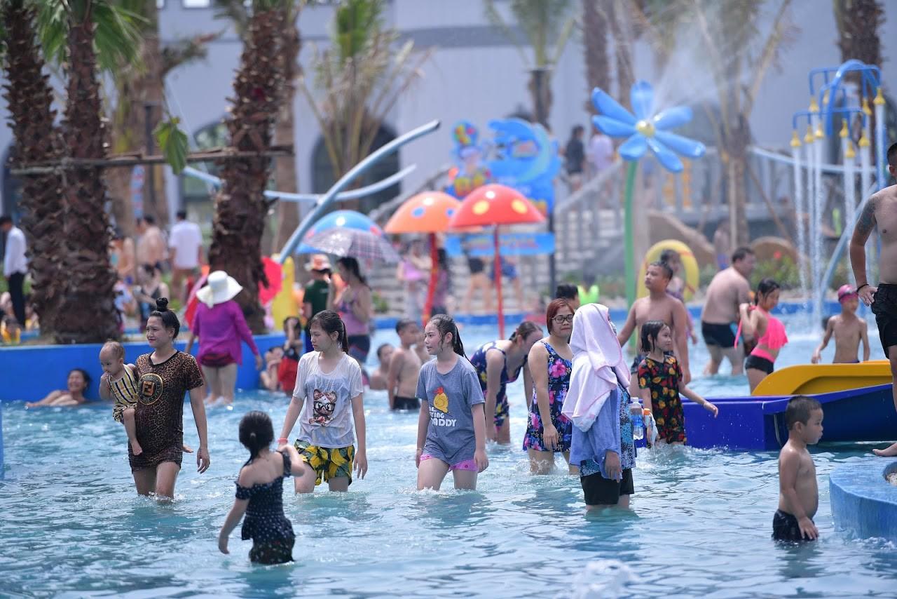 Cận cảnh bên trong công viên nước Thanh Hà sau sự cố bé trai 4 tuổi đuối nước tử vong-10