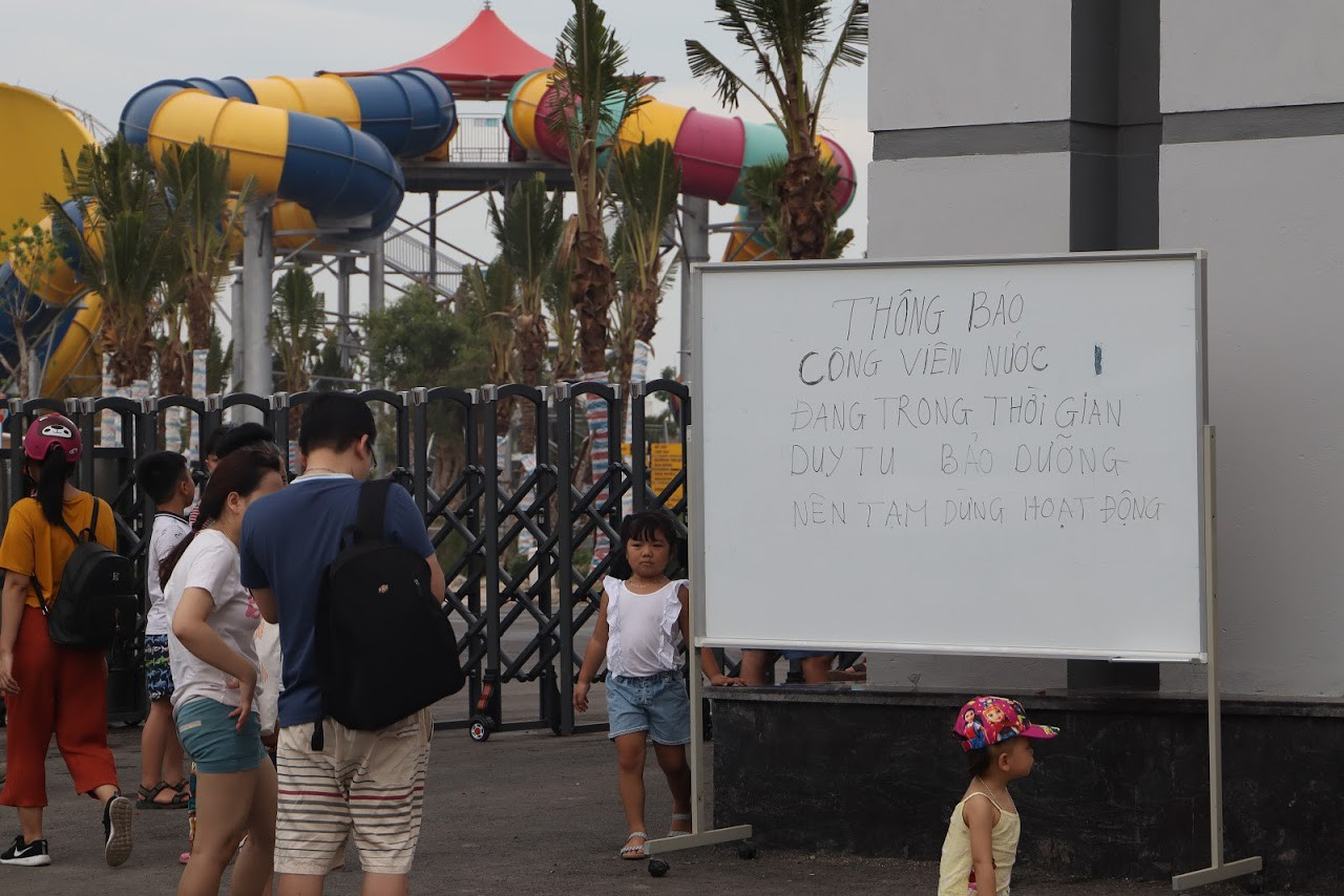 Cận cảnh bên trong công viên nước Thanh Hà sau sự cố bé trai 4 tuổi đuối nước tử vong-21