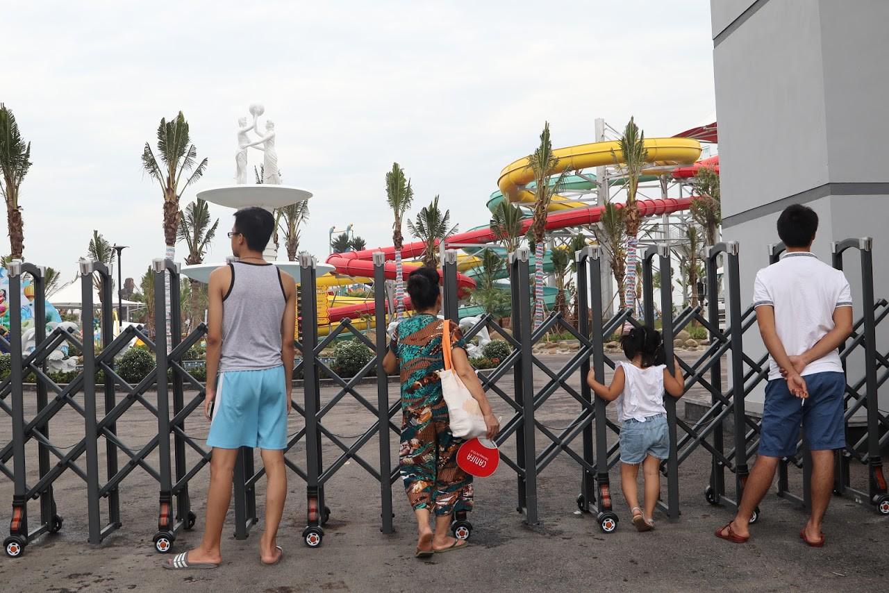 Cận cảnh bên trong công viên nước Thanh Hà sau sự cố bé trai 4 tuổi đuối nước tử vong-22