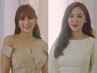 GIẬT MÌNH: Đố bạn phân biệt được đâu là Thu Thủy, đâu là Kelly Nguyễn khi đứng chung một khung hình