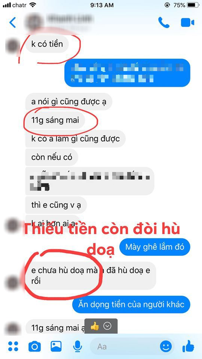 Nữ du học sinh Việt sinh năm 2001 bị tố lừa đảo hơn 350 triệu đồng, đòi lại tiền còn bị gia đình hăm doạ-8