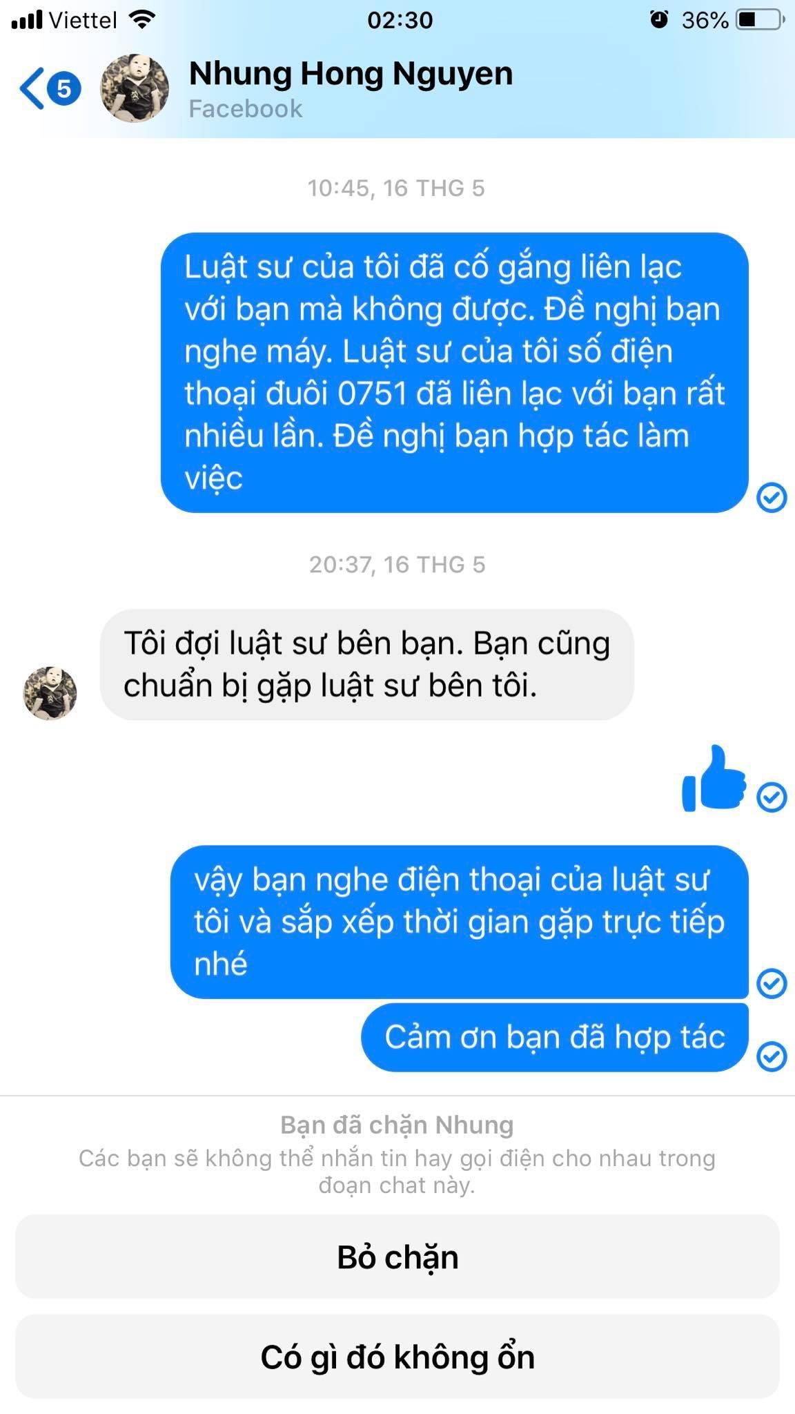 Nguyễn Hồng Nhung - bà xã Xuân Bắc bất ngờ bị tố đã bôi nhọ, sỉ nhục người khác, nếu không dừng lại sẽ khởi kiện-6