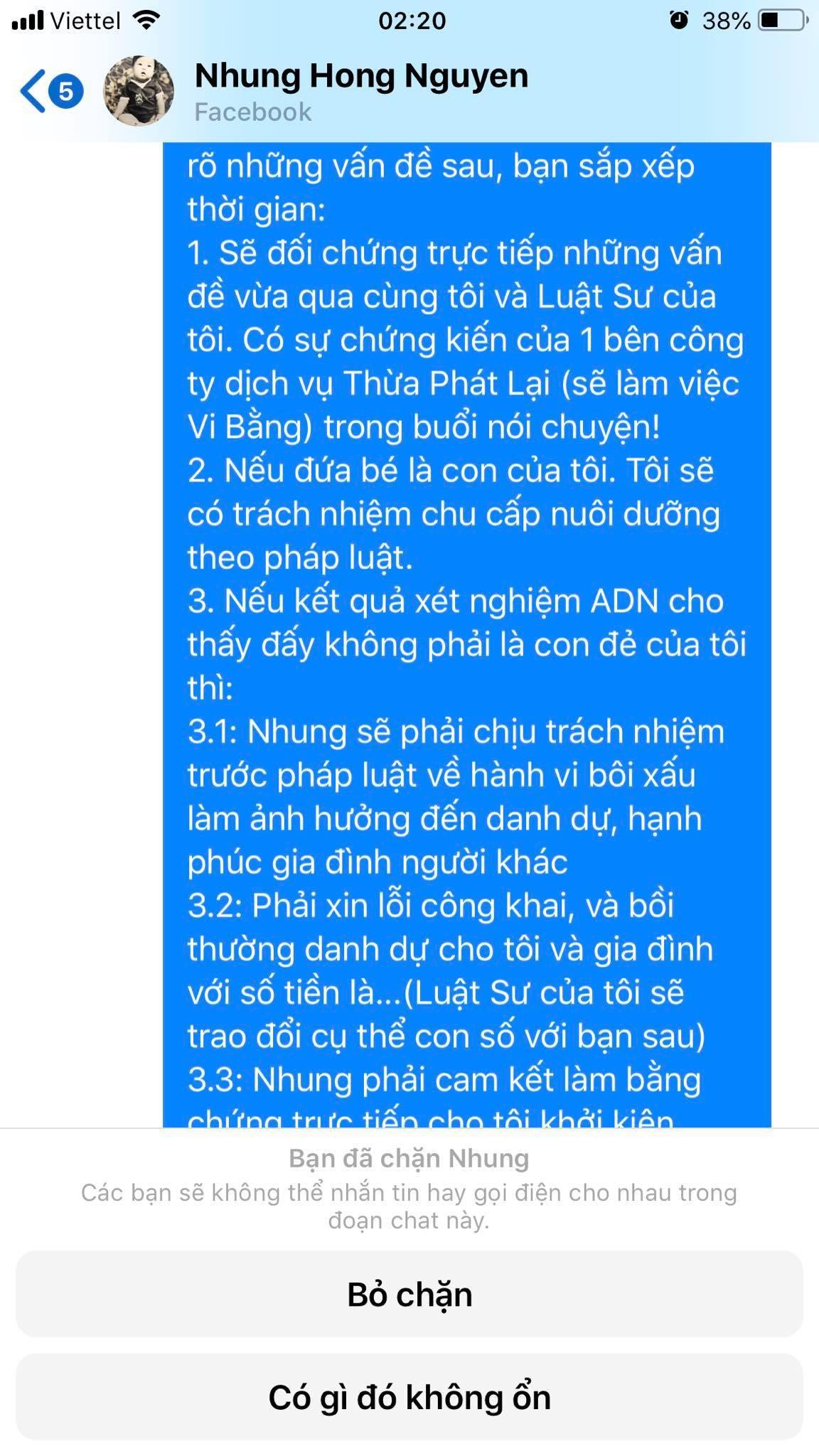 Nguyễn Hồng Nhung - bà xã Xuân Bắc bất ngờ bị tố đã bôi nhọ, sỉ nhục người khác, nếu không dừng lại sẽ khởi kiện-7
