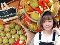 Cô gái Hà Nội chia sẻ cách làm sấu ngâm mắm tỏi ớt cực đơn giản, chấm rau ngon 'quên sầu'