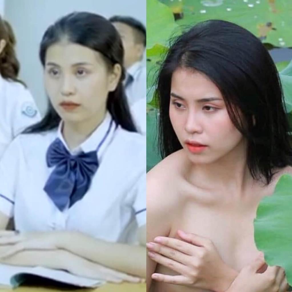 Thu Hương - cô gái khỏa thân ở hồ sen gây giật mình với ảnh đời thường-12