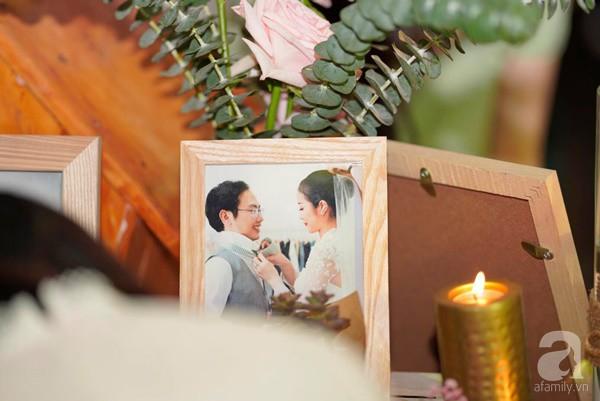 Cô dâu Phí Linh nắm chặt tay bố bước vào lễ đường, xúc động trong khoảnh khắc trao nhẫn cùng chú rể Hoàng Linh-24