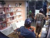 Truy tìm người phụ nữ vào cửa hàng vờ mua đồ rồi