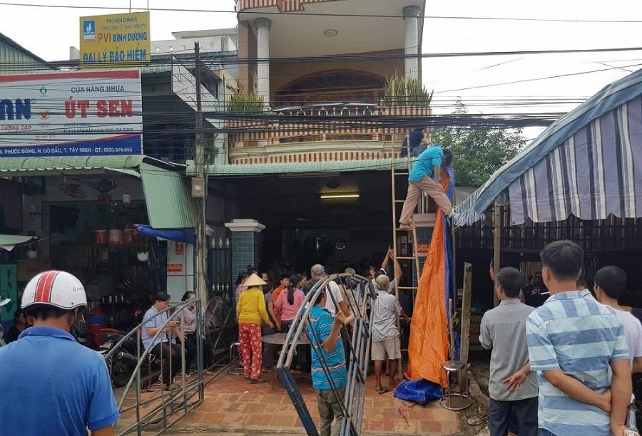 Đại tang trong căn nhà 4 người chết do tai nạn giao thông ở Tây Ninh-1