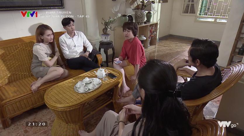 Về nhà đi con tập 45: Khải đi tù, cả gia đình ông Sơn nhờ Vũ làm điều này-3