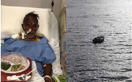 Mắc kẹt trên biển 4 ngày không đồ ăn thức uống, người đàn ông 60 tuổi sống sót thần kỳ với bạn là phao cứu sinh và đồng hồ Rolex-1