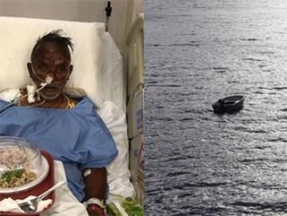 Mắc kẹt trên biển 4 ngày không đồ ăn thức uống, người đàn ông 60 tuổi sống sót thần kỳ với