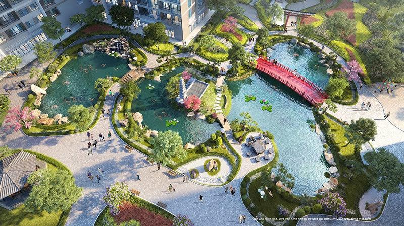 Ra mắt căn hộ Ruby tại 'Thành phố biển hồ' Vinhomes Ocean Park-1