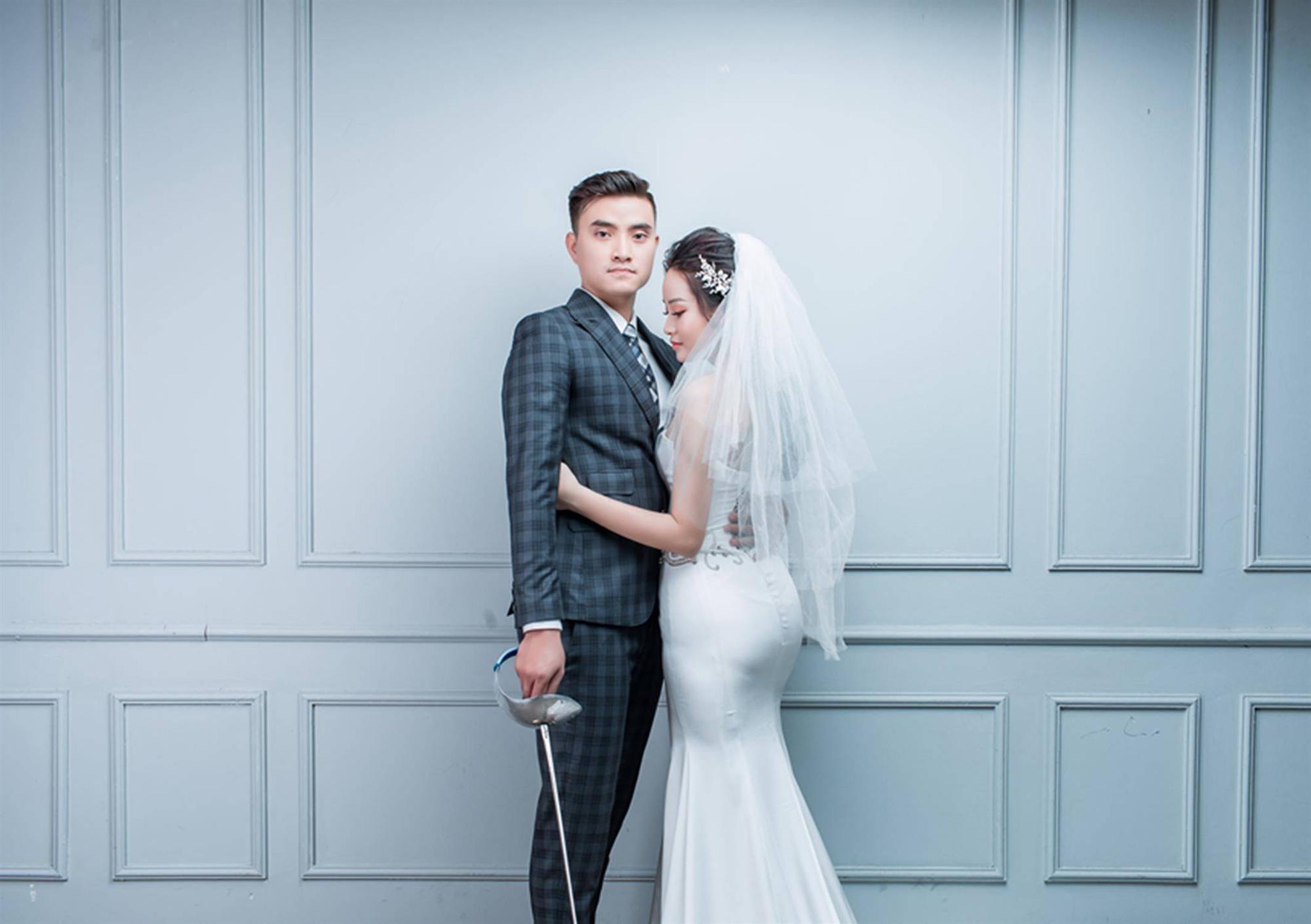 Ảnh cưới của vua kiếm chém và người vợ xinh đẹp-8