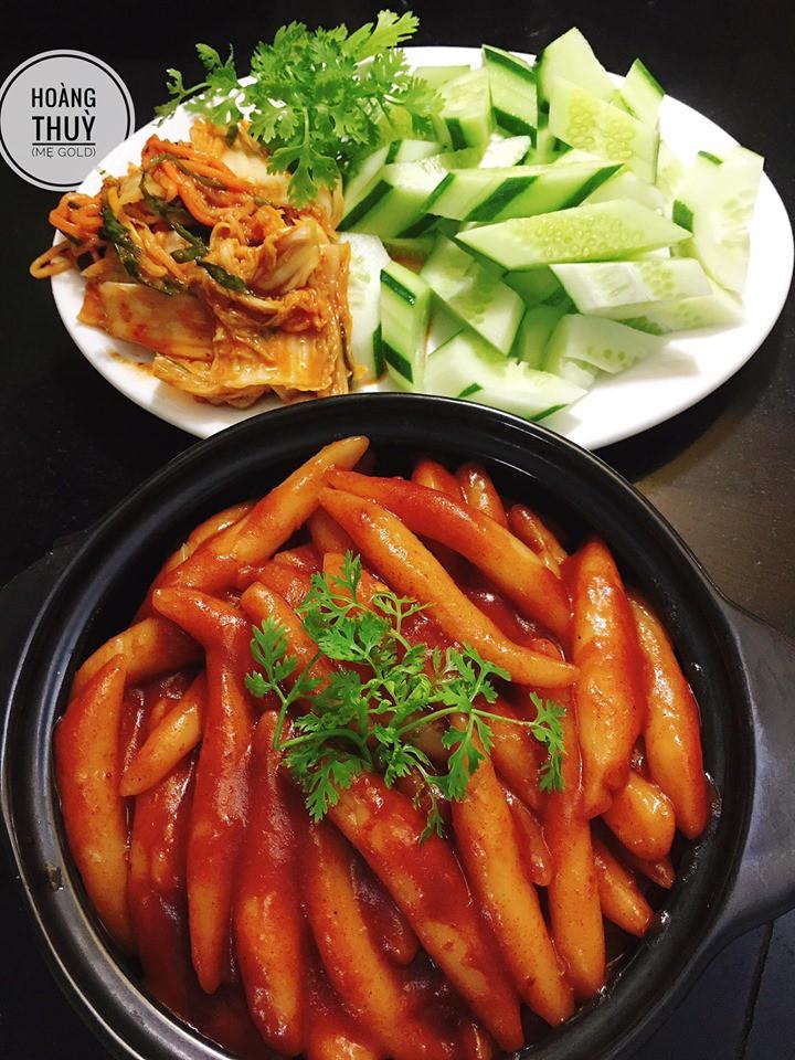 Đổi món với công thức bánh gạo Hàn Quốc dẻo thơm đậm vị của mẹ 9X xinh như Hot Girl-6