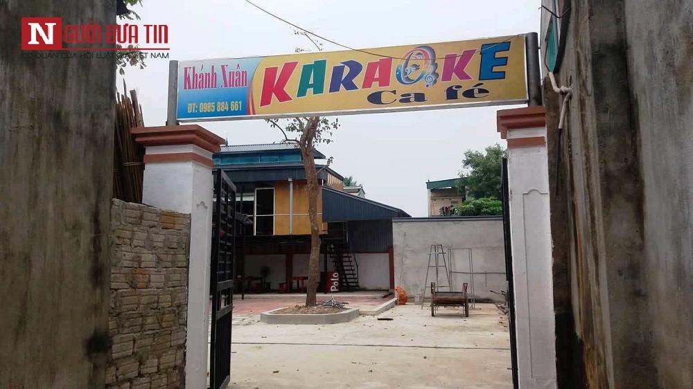 """Vợ tới phòng Karaoke đánh ghen khi chồng công an hát cùng tiếp viên"""" khiến 2 người bị thương-1"""