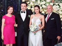 Đám cưới siêu mẫu Phương Mai và chồng Tây gia thế khủng: Cô dâu không diện váy cưới, xuất hiện trong trang phục