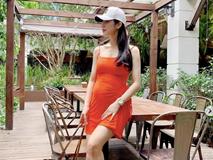 Bầu gần 5 tháng, Diệp Lâm Anh vẫn đẹp đến khó tin khi diện váy 2 dây gợi cảm
