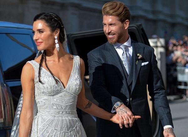 Vợ chồng Beckham, Roberto Carlos dự đám cưới của Ramos-1