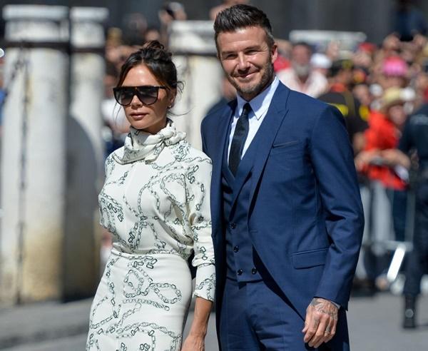 Vợ chồng Beckham, Roberto Carlos dự đám cưới của Ramos-3