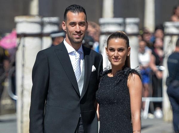 Vợ chồng Beckham, Roberto Carlos dự đám cưới của Ramos-6
