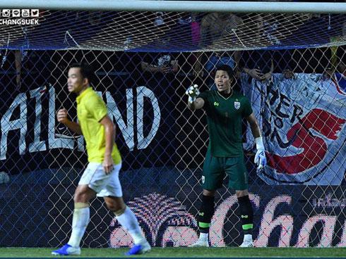 Thủ môn Thái Lan bất ngờ kể về pha ghi bàn của tuyển Việt Nam ở Kings Cup