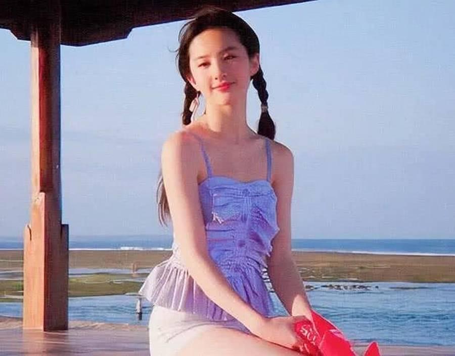 Loạt ảnh thời thiếu nữ của Lưu Diệc Phi xứng danh thần tiên tỷ tỷ-2
