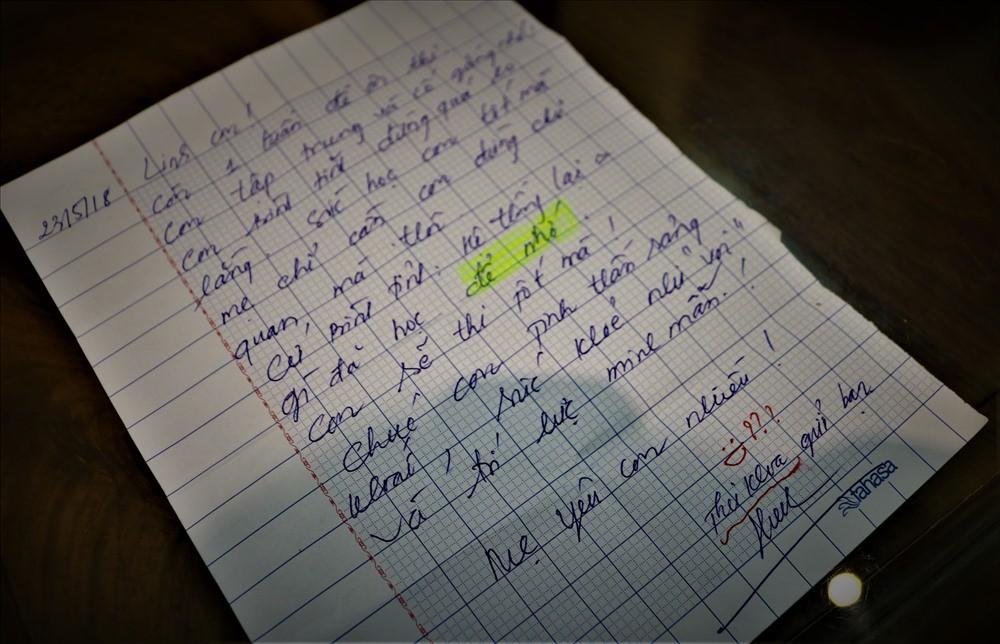 Lá thư của người mẹ gửi thủ khoa lớp 10 trước ngày thi-1