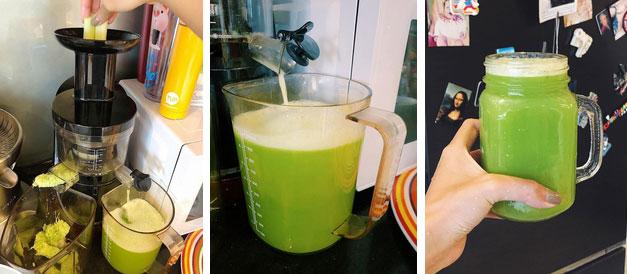 Uống nước ép cần Hari Won giảm 6kg trong 2 tháng, nhiều sao khác cũng đang dưỡng da giữ dáng bằng cốc nước thần thánh này-5