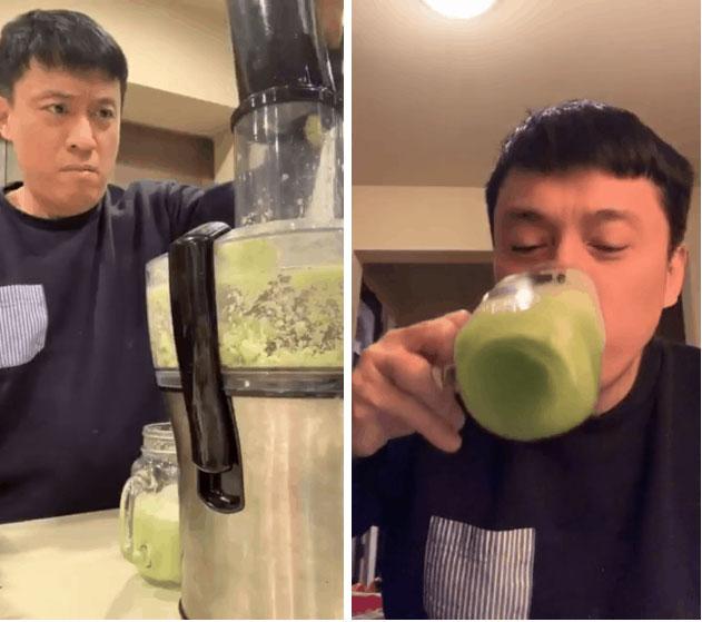 Uống nước ép cần Hari Won giảm 6kg trong 2 tháng, nhiều sao khác cũng đang dưỡng da giữ dáng bằng cốc nước thần thánh này-6