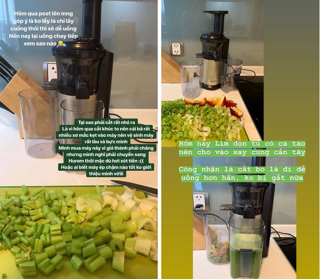 Uống nước ép cần Hari Won giảm 6kg trong 2 tháng, nhiều sao khác cũng đang dưỡng da giữ dáng bằng cốc nước thần thánh này-7
