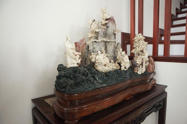Tuyệt phẩm điêu khắc bát tiên quá hải độc nhất vô nhị ở Việt Nam-2