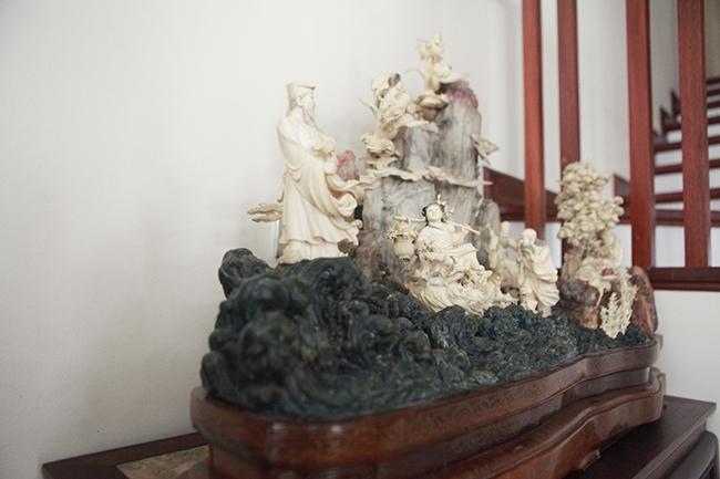 Tuyệt phẩm điêu khắc bát tiên quá hải độc nhất vô nhị ở Việt Nam-6