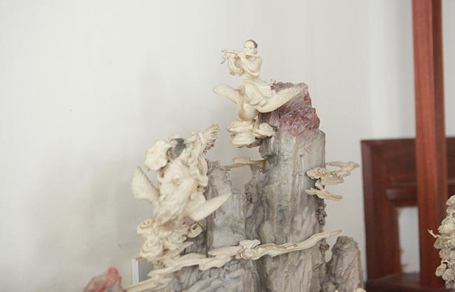 Tuyệt phẩm điêu khắc bát tiên quá hải độc nhất vô nhị ở Việt Nam-7