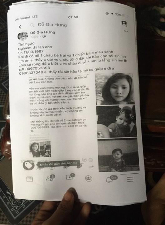 Bắc Ninh: Người vợ trẻ bế con trai gần 3 tuổi đi khỏi nhà, gia đình cầu cứu cộng đồng mạng giúp đỡ-3