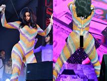 Nữ rapper phồn thực bị sự cố thời trang bục quần trước ngàn người vẫn tỉnh bơ