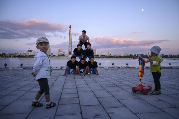 Ảnh độc: Mùa hè ở Triều Tiên khiến thế giới ngỡ ngàng-10